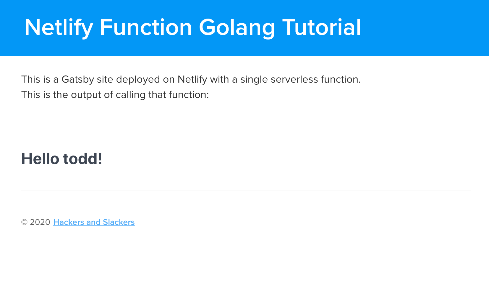"""<a rel=""""noopener noreferrer"""" href=""""https://serverless-golang-tutorial.netlify.app/"""">https://serverless-golang-tutorial.netlify.app</a>"""